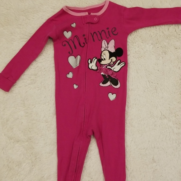 Disney Other - 🎉 Authentic Disney baby 12mo Minnie Mouse footsie